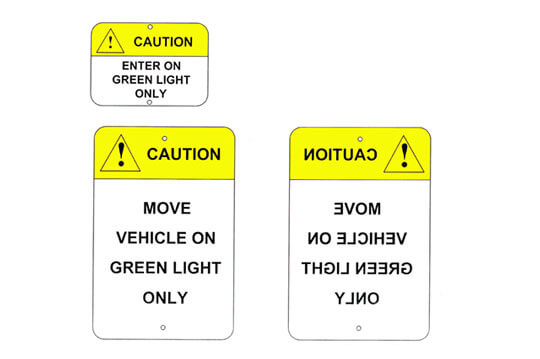 Loading Dock Safety Signs
